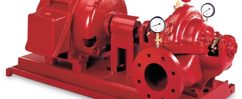 Aurora's Horizontal Split Case Electric Drive Fire Pump