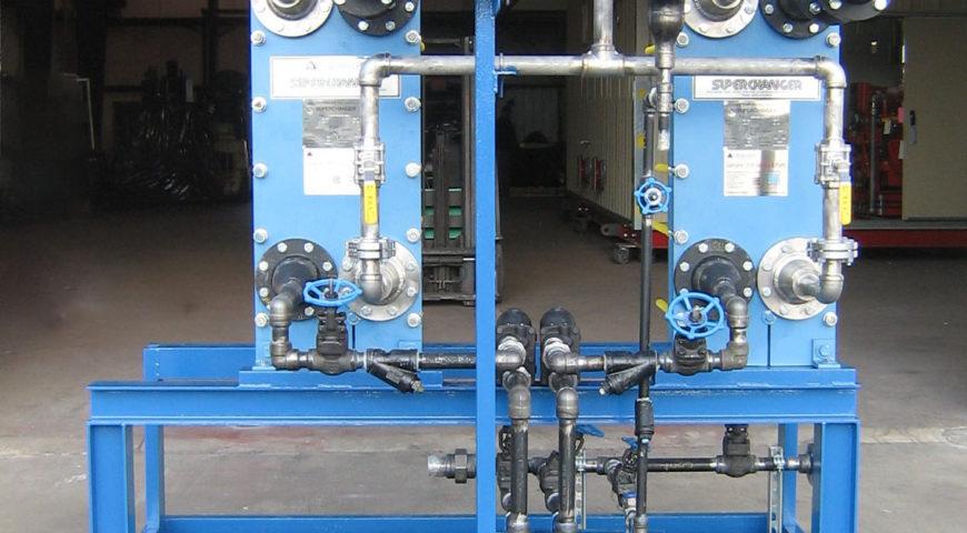 MECO Steam-to-Water Heat Exchanger Skid