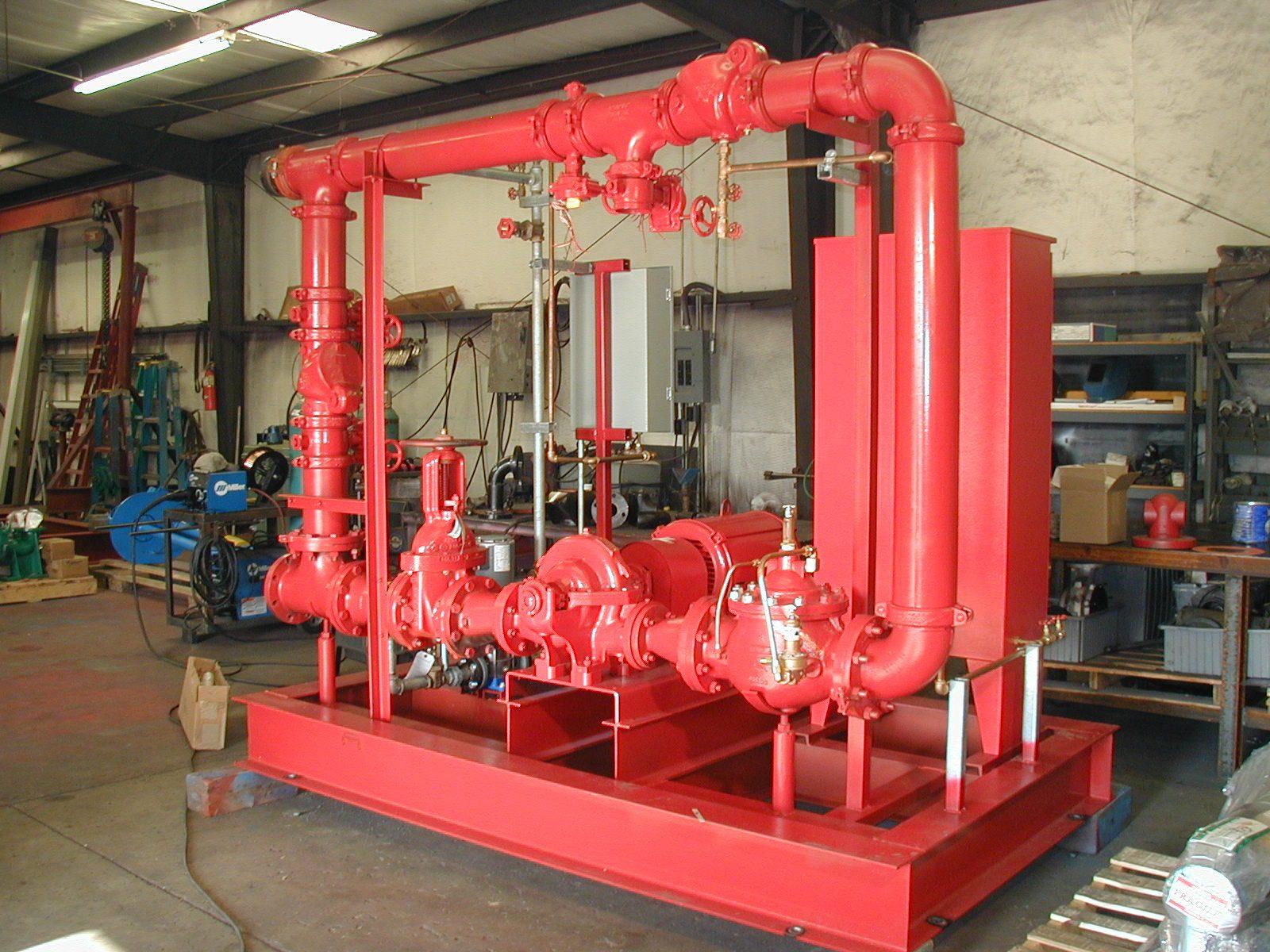 Fire Pumps Mechanical Equipment Company