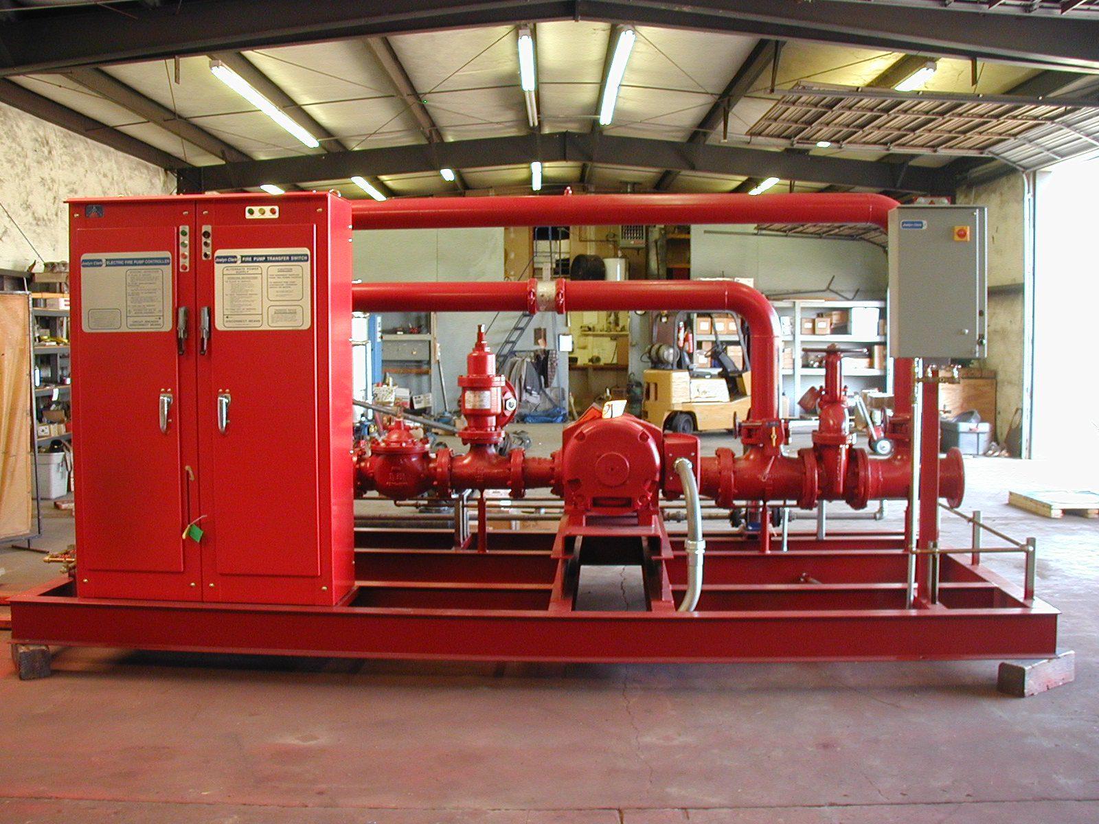 Fire Water Pump Mechanical Equipment Company